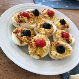 Mom Danaher's Deviled Eggs